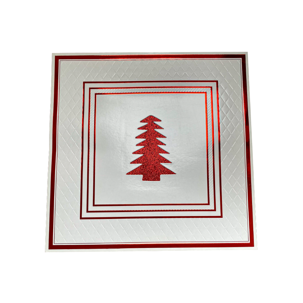 Red Christmas Placemats Anni Pack of 20 - Place Matters