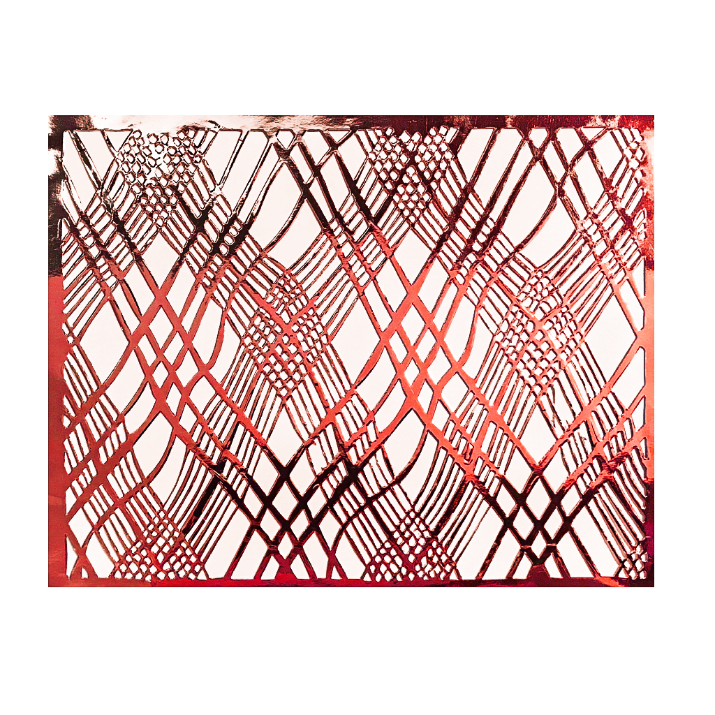 Red Placemats (Weave Design)(Rectangle) - Place Matters