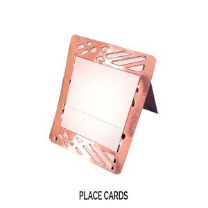 Rose Gold Place Cards (Pack of 20)(Weave) - Place Matters