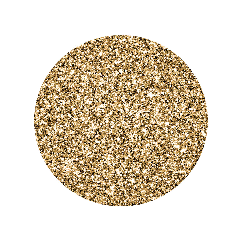 Gold Placemats (Glitter) Pack of 20 (Round) - Place Matters