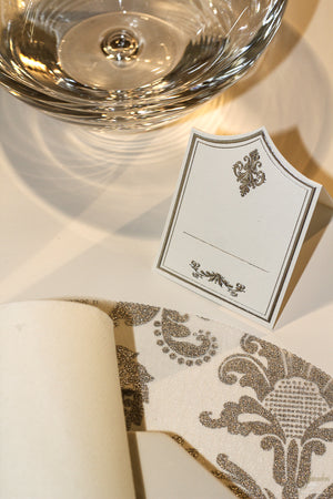 Silver Place Cards (Pack of 20) - Place Matters