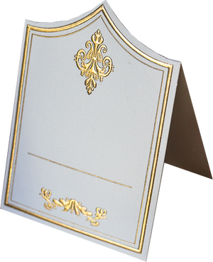 Gold Place Cards (Pack of 20)(Royale) - Place Matters