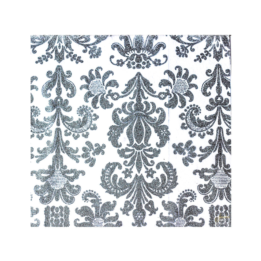 Silver Placemats (Royale) Pack of 20 (Square) - Place Matters