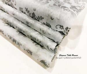 Silver Table Runners