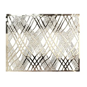 Silver Placemats (Weave) Pack of 20 (Rectangle) - Place Matters