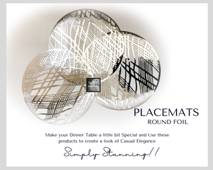 Silver Placemats - Place Matters
