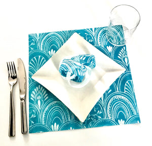 Pink Placemats (Milano) Pack of 20 (Square) - Place Matters