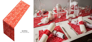 Red Table Runners (Milano) - Place Matters