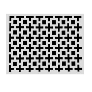 Charcoal Placemats (Amazing Squares) Pack of 20 - Place Matters