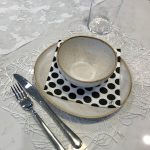 White Placemats Spaghetti (Rectangle) - Place Matters