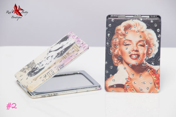 AUDREY & MARILYN COSMETIC MIRRORS