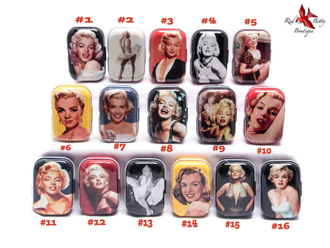 MARILYN MONROE COLLECTOR TINS
