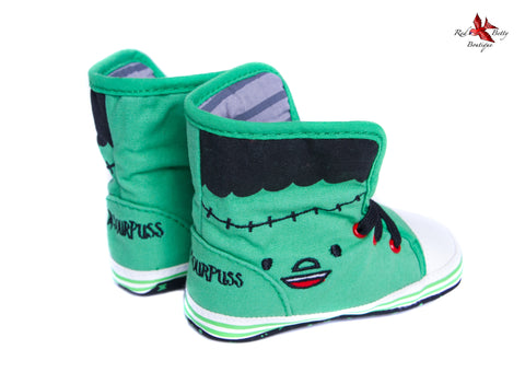 CRIB SHOES BY SOURPUSS