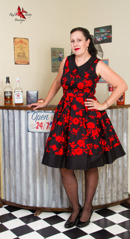 HAZEL VINTAGE SWING DRESS BY DOLLY AND DOTTY