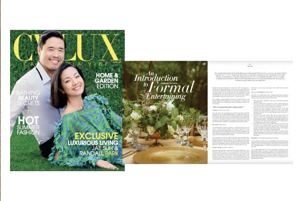 CV Lux Feature • An Intro to Formal Entertaining