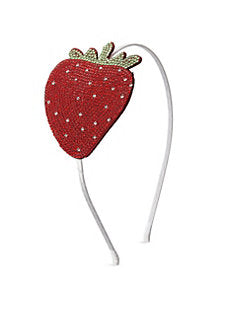 Crystal Strawberry Headband