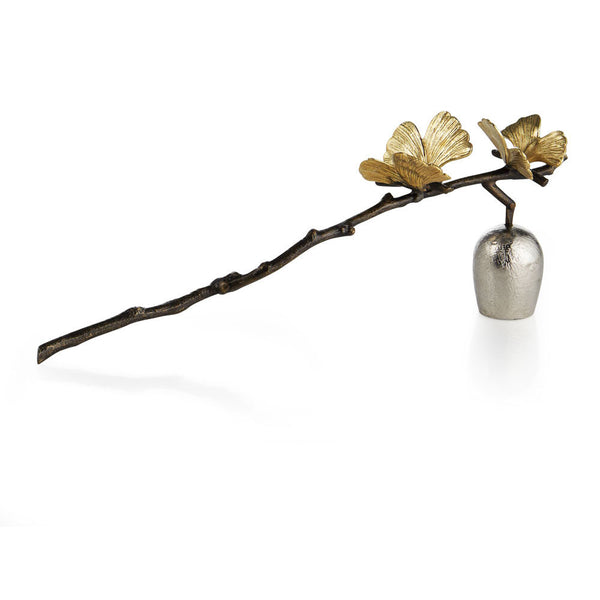 Butterfly Ginkgo Candle Snuffer, vendor-unknown - RSVP Style