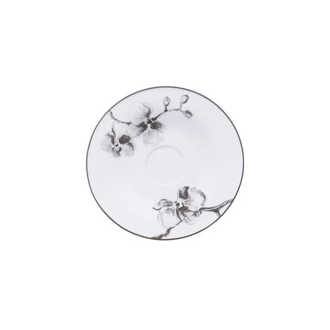 Black Orchid Saucer