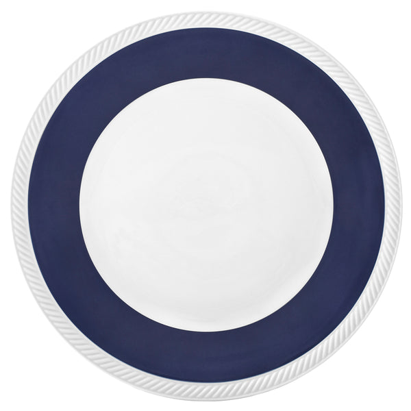 Twist Midnight Dinner Plate