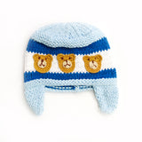 Three Bears Knit Infant Hat