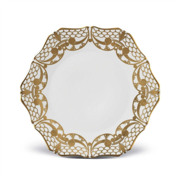 Alencon Gold Dinner Plate - RSVP Style
