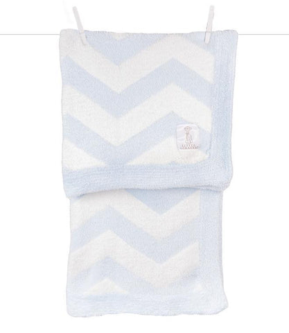 Little Giraffe Dolce Chevron Blanket