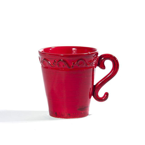 Baroque Red Mug