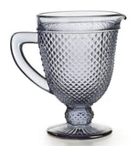 Bicos Grey Pitcher, vendor-unknown - RSVP Style