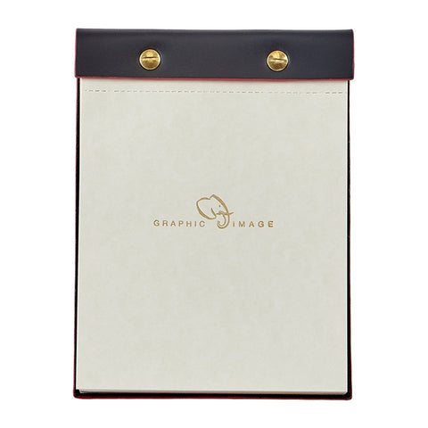 Italian Bonded Leather Desk Notepad