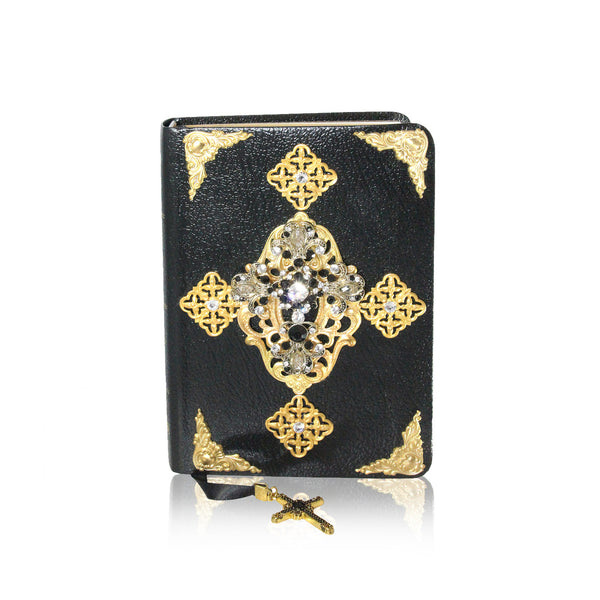 Leather Personal Bible | Black & Gold