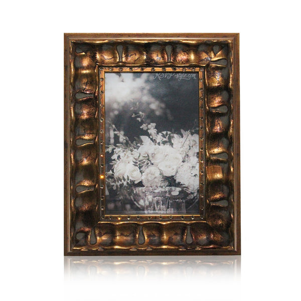 Torino Frame | Antique Gold