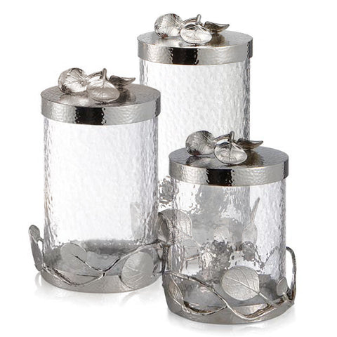 Botanical Leaf Canisters, Michael Aram - RSVP Style