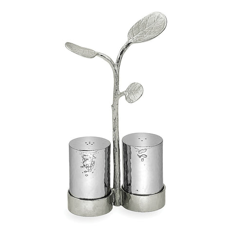 Botanical Leaf Salt & Pepper Caddy