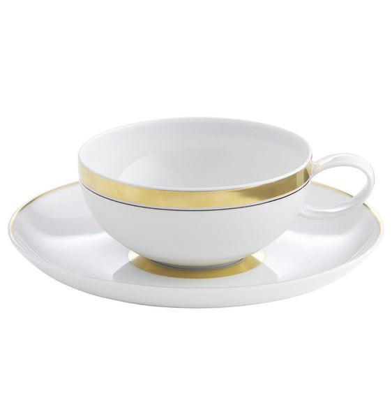 Domo Gold Breakfast Cup & Saucer