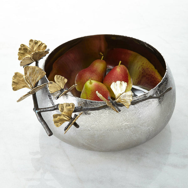 Butterfly Ginkgo Bowl, vendor-unknown - RSVP Style