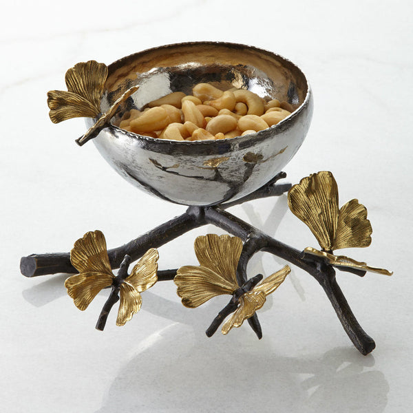 Butterfly Ginkgo Nut Dish, vendor-unknown - RSVP Style
