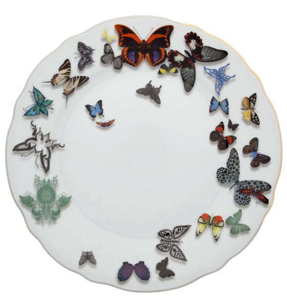 Butterfly Parade Dinner Plate, vendor-unknown - RSVP Style