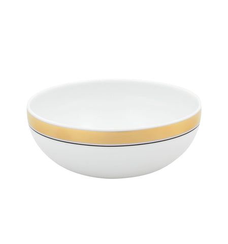 Domo Gold Small Cereal Bowl - RSVP Style