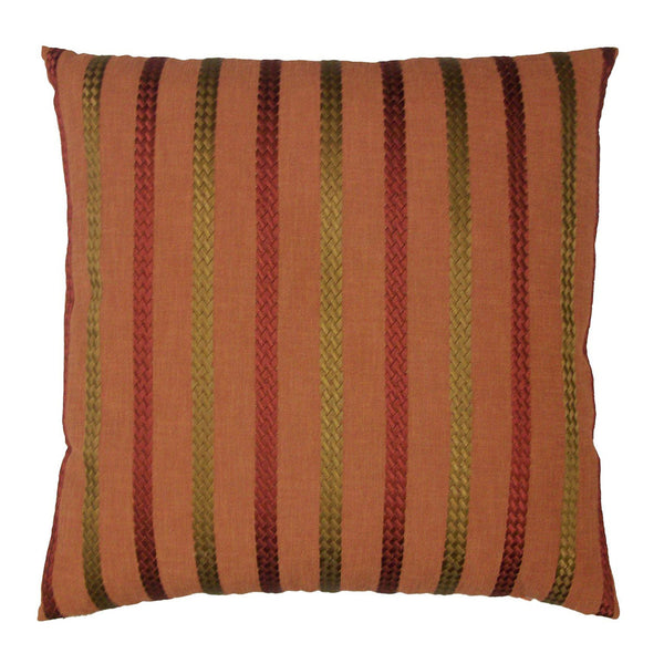 Cheverny Throw Pillow  |  Flame