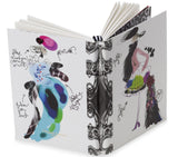 Christian Lacroix Fashion Sketch Croquis A6 Notebook