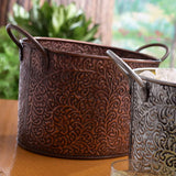 Copper Vine Ice Bucket