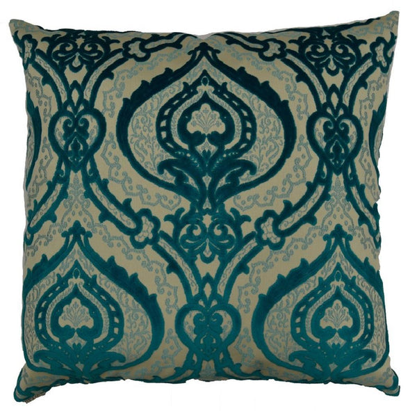 Couture Throw Pillow  |  Turquoise