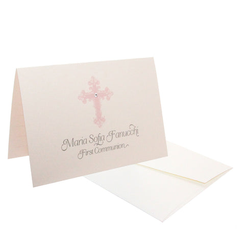 Cross Personalized Stationery - RSVP Style