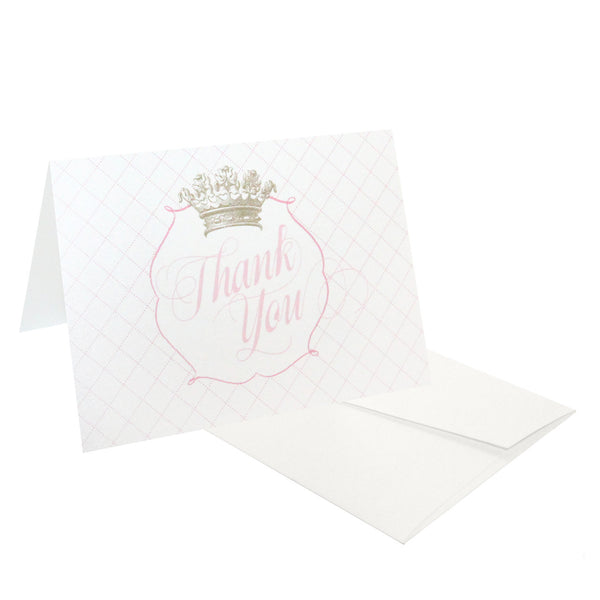 Crown Thank You Stationery