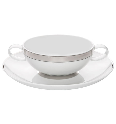 Domo Platina Consomme Cup & Saucer