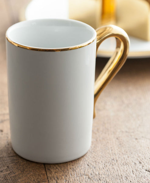 Dore Mug with Gold Handle