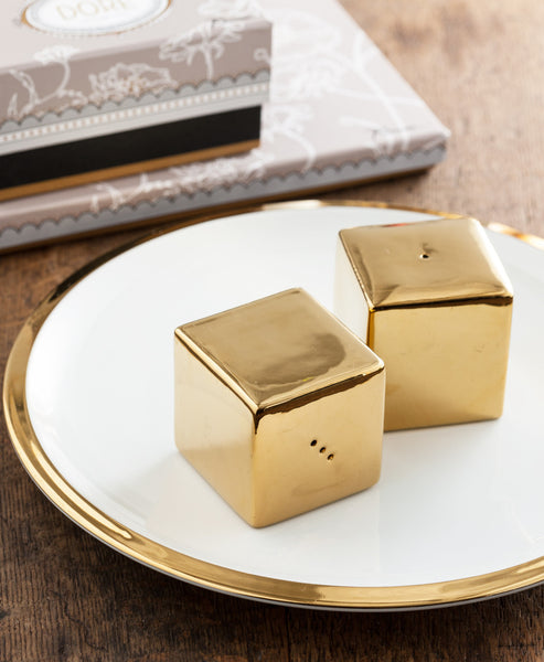 Dore' Square Salt & Pepper Shakers