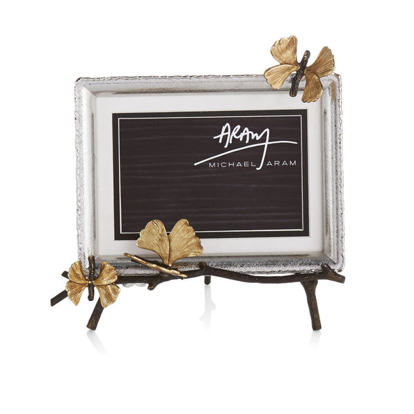 Butterfly Ginkgo Easel Frame, vendor-unknown - RSVP Style