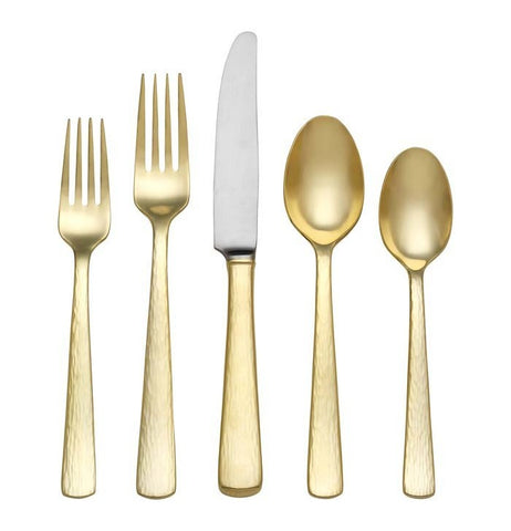 Echo Gold 5 Piece Place Set