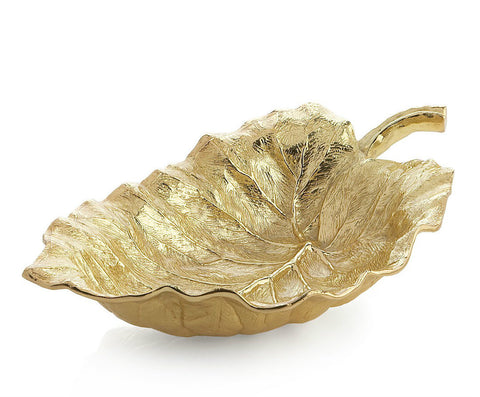 New Leaves Elephant Ear Large Serving Bowl - RSVP Style